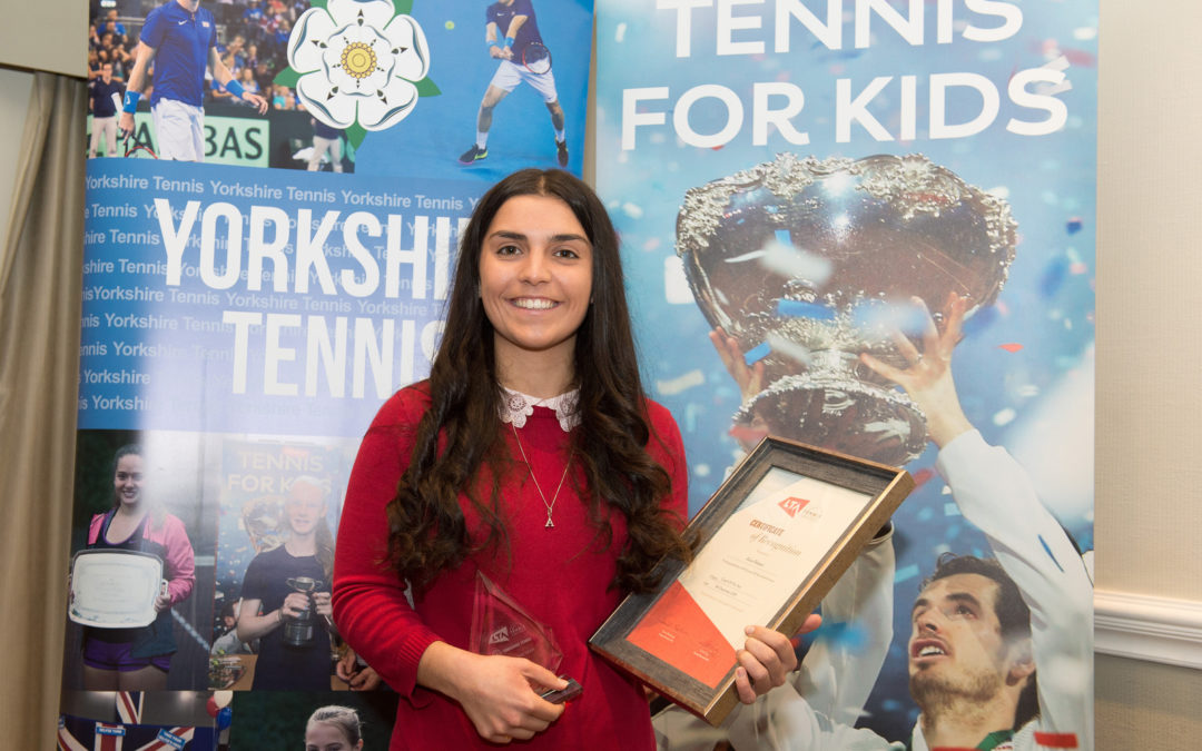 Ackworth School tennis coach named Yorkshire Tennis Coach of the Year