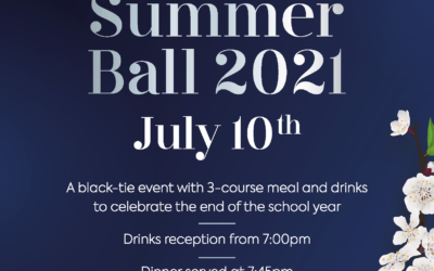 Summer Ball 2021 Tickets Now On Sale